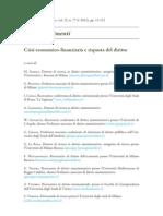 Crisi economico-finanziaria e risposta del diritto - AA.VV.