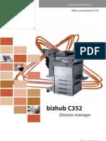 bizhub C352 Brochure