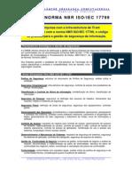 LUMINE-Conformacao Com a Norma NBR17799