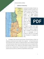 Limites Chile Bolivia
