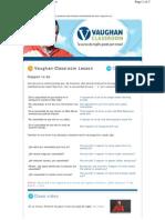 Vaughan Classroom - Happy to Do