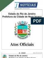 diario oficial de nova iguaçu - 25 de maio de 2013.