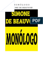 Simone de Beauvoir Monologo