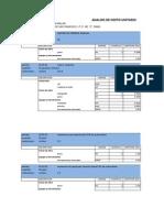 Analisis de Costo Unitario Recuperado