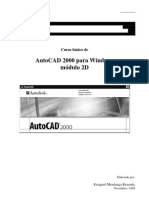 AutoCAD 2000 Para Windows Modulo 2D