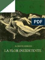 110777083 Miguel Serrano La Flor Inexistente