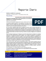 Reporte Diario 2401