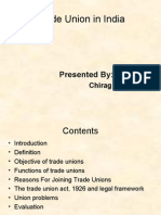 Trade union in India-ppt