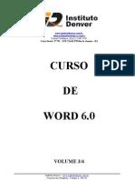 Curso básico de Word volume 03/04