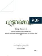 Resonance Design Document