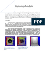 Smoke Ring Rendering using Photon Mapping