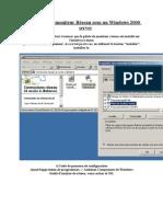 Installation du moniteur Réseau sous un Windows 2000 server