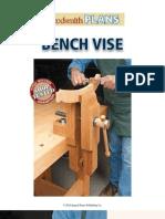 WoodSmith Leg Bench Vise Plans