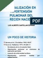 ACTUALIZACIÓN EN HIPERTENSIÓN PULMONAR DEL RECIEN NACIDO