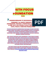 Faith Focus Foundations