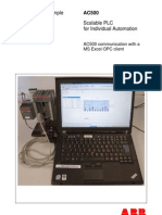 AC500 Communication With a MS Excel OPC Client