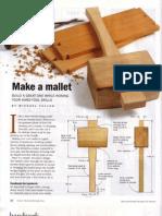 Fine Woodworking Make a Mallet