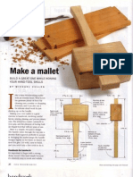 Fine Woodworking Make a Mallet