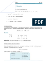 Funções polimoniais