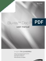 Samsung Blu Ray Player Document