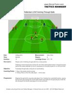 Feyenoord U16 Finishing Drill