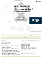 Regression 101 r