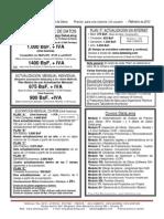 Costos Datalaing Mayo 2013
