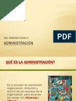 I Ciclo - Administración