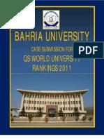 Bahria University QS Ranking 2011 Korea