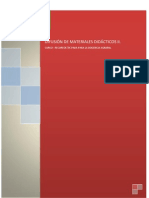 UD DIFUSIÓN DE MATERIALES DIDACTICOS I I