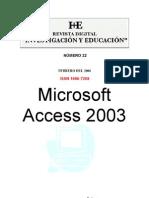 Curso de Access 2003