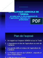 communication sur la PAU dernière version mai 2006