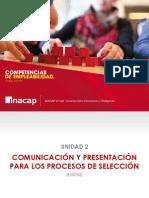 Comunicacion y Presentacion Para Procesos de Seleccion
