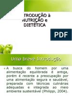 Aula 1 - Nutrição e Dietética