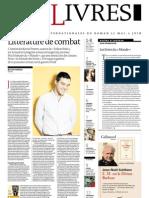 Supplément Le Monde des livres 2013.05.24