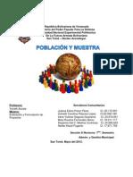 Población puntos