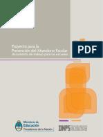 Oficial - Proeyecto Para La Prevencion Del Abandono Escolar