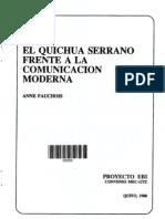 El Quichua Serrano Frente a La Comunicacion Moderna (29)