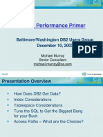 DB2 Performance Primer_New