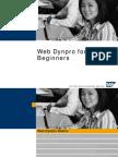 Web Dynpro for Beginners