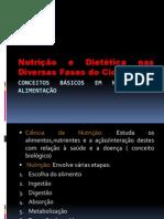 Conceitos Básicos em Nutrição e Alimentação