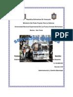 Informe Se Servicios Publico y Gestion de Obras