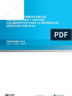Programa AmbWEB CLAD 2013