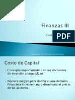 Costo de Capital- Unidad i