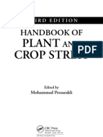 Handbook of Plant and Crop Stress Third Ed 2011