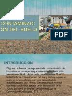 DIAPOSITIVAS CONTAMINACIÓN DEL SUELO