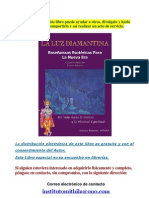 LIBRO -LA LUZ DIAMANTINA-Curso Esotérico.