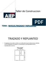 Taller de Construccion Trazado y Replanteo