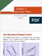 5. Diesel Power Plant
