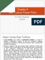 6. Gas Turbine Power Plant